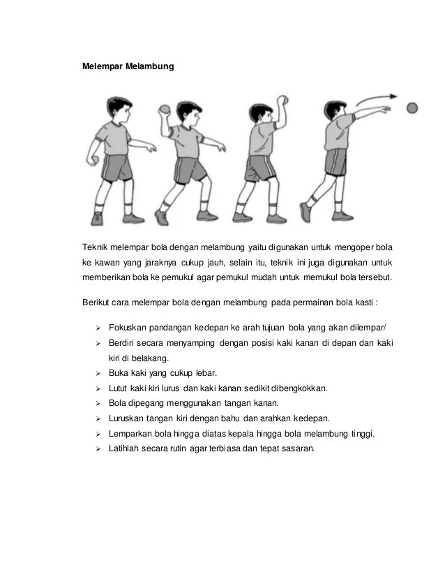 Melempar Bola Kasti : melempar, kasti, Pengertian, Permainan, Kasti2