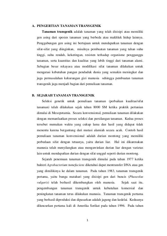Contoh Tanaman Transgenik : contoh, tanaman, transgenik, Pengertian, Tanaman, Transgenik, Lengkap