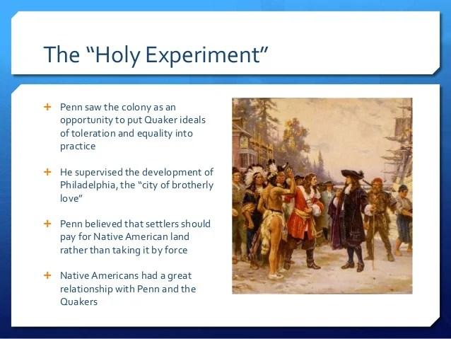 Pennsylvania A Haven For Quakers 8 6