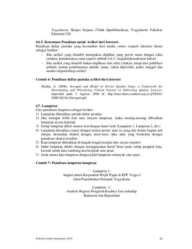 Contoh Jurnal Skripsi Manajemen Sdm Berotoh Cuitan Dokter