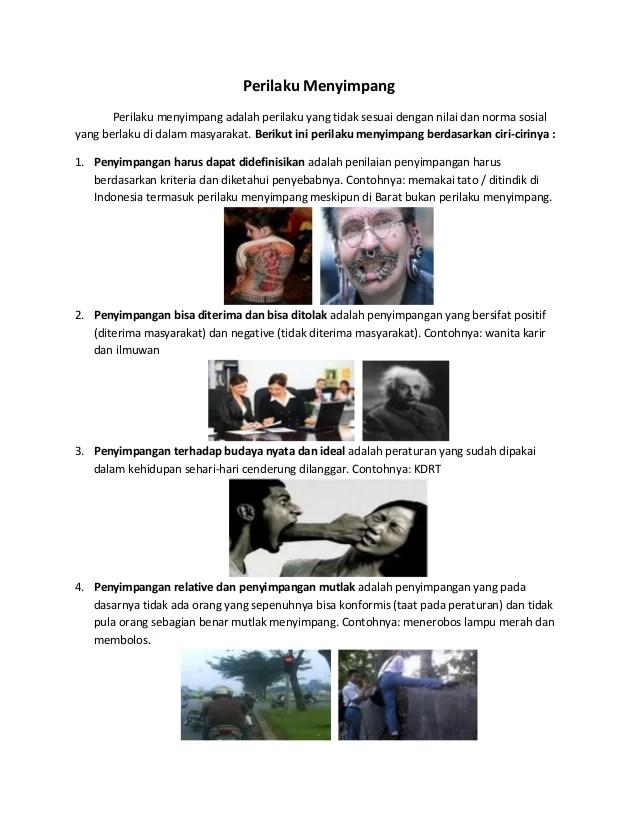 Penyimpangan Primer Dan Sekunder : penyimpangan, primer, sekunder, Penyimpangan, Sosial, Berdasarkan, Ciri-ciri, Jenisnya