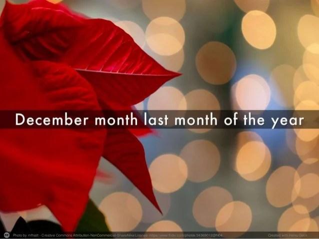 People born in-december