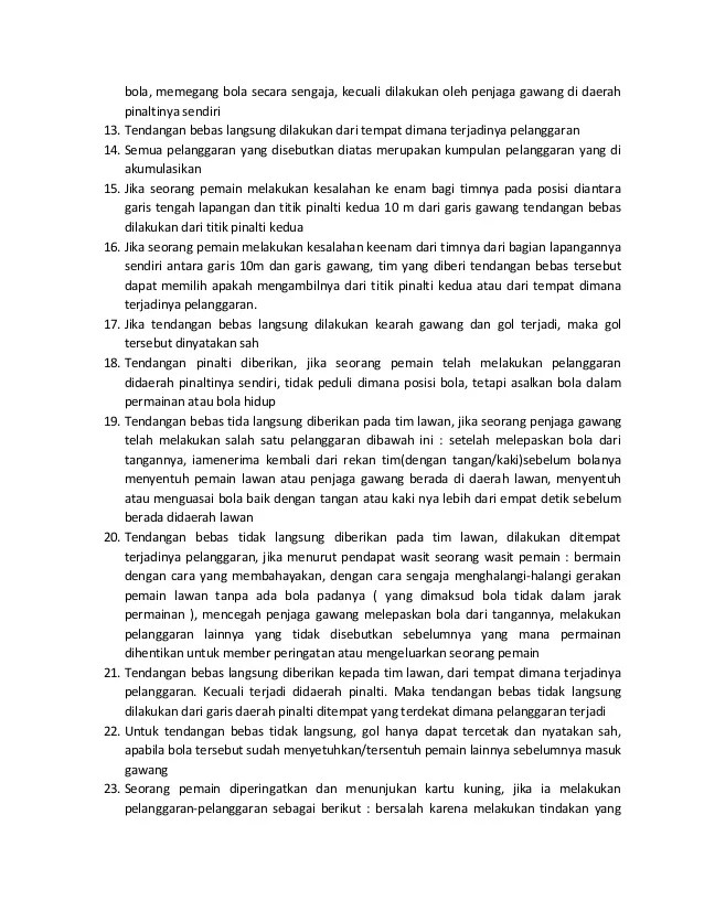 Peraturan Bola Futsal : peraturan, futsal, Peraturan, Permainan, Futsal