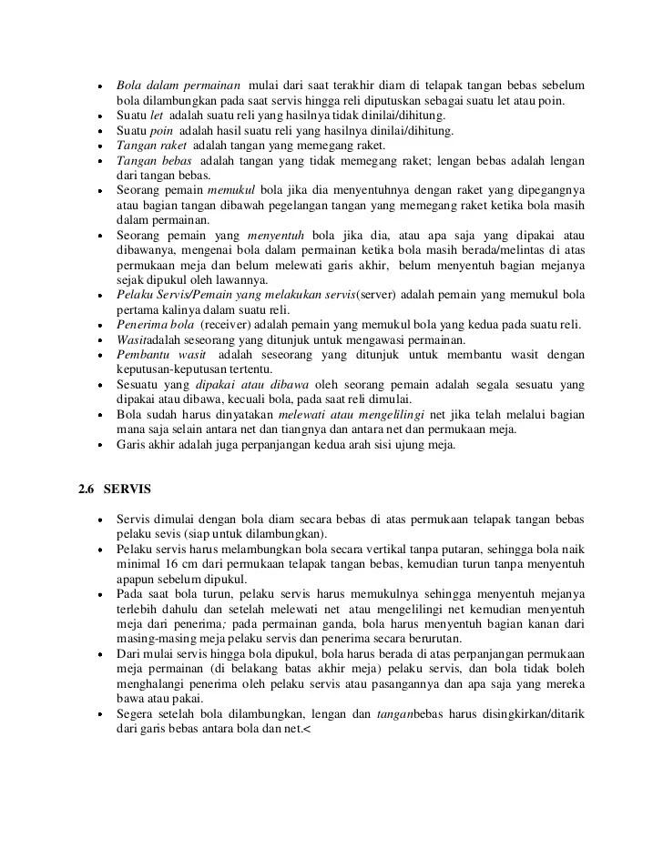 Peraturan Permainan Tenis Meja Terbaru : peraturan, permainan, tenis, terbaru, Sebutkan, Peraturan, Servis, Dalam, Permainan, Tenis