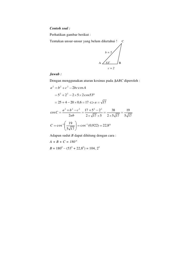 Contoh Soal Identitas Trigonometri : contoh, identitas, trigonometri, Kumpulan, Pelajaran, Contoh, Identitas, Trigonometri