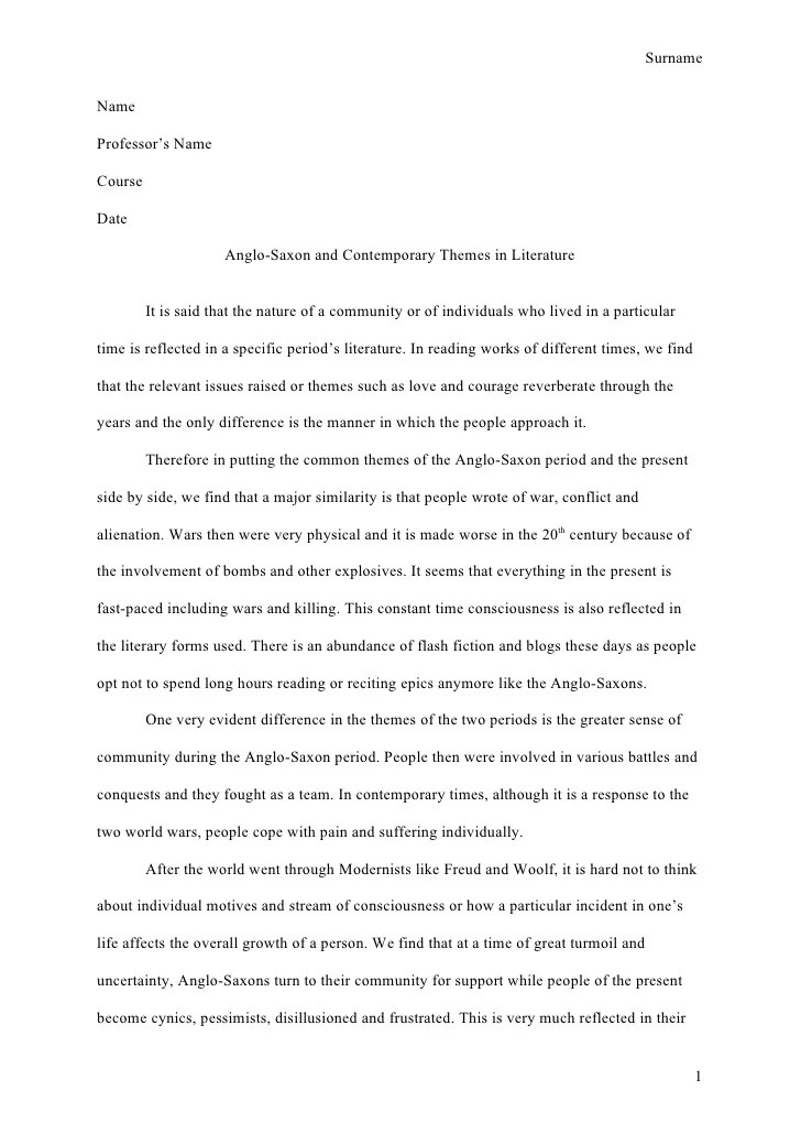 Apa Format Sample Paper Essay Examples Of Writing A Research Paper