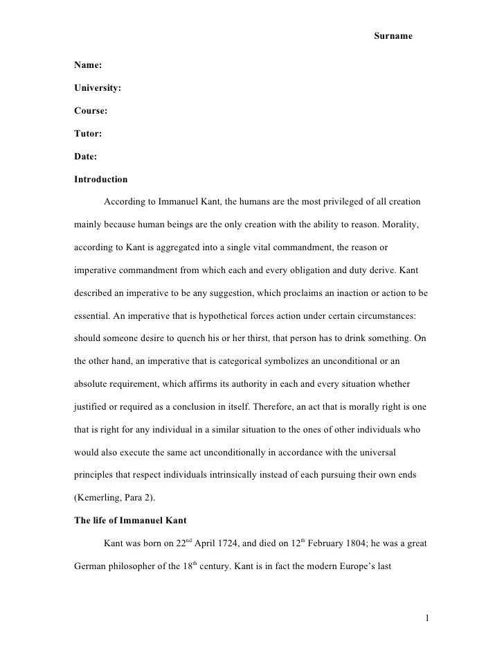 Essays In Mla Format Cover Letter Examples Of Mla Format Essays