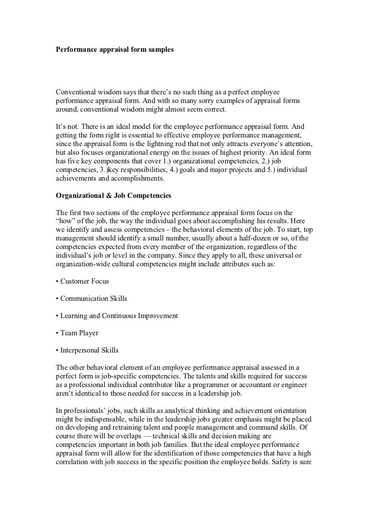 appraisal report definition