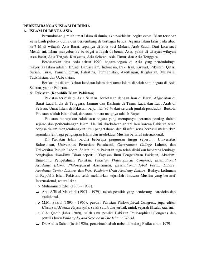 Sejarah Perkembangan Islam Di Amerika : sejarah, perkembangan, islam, amerika, Perkembangan, Islam, Dunia