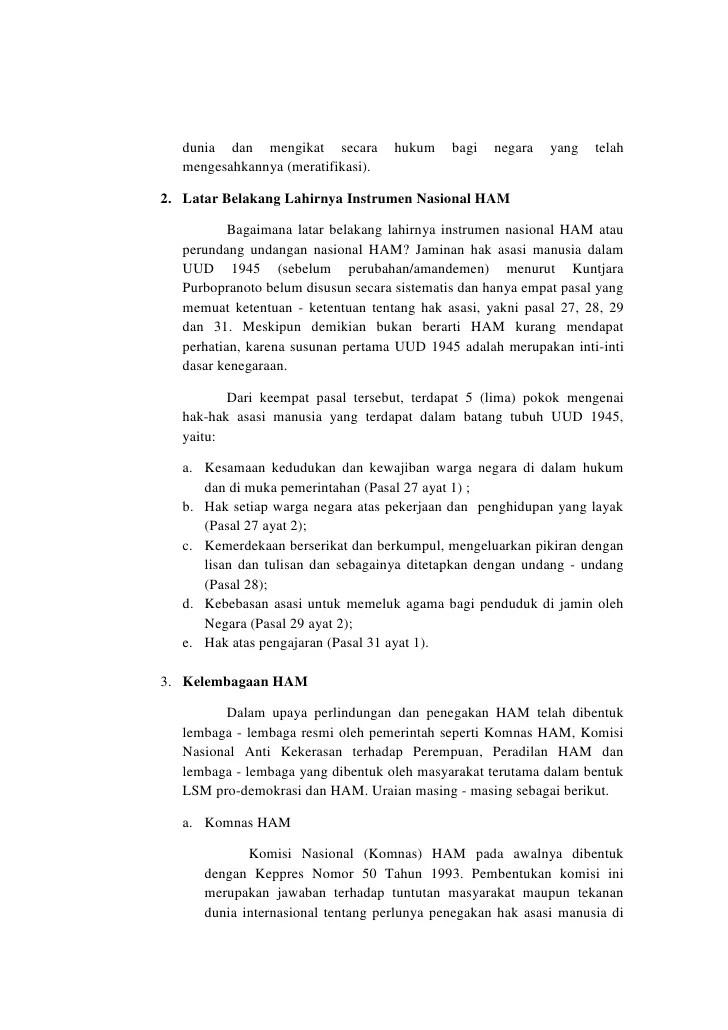 [Lengkap] 10 Lembaga Perlindungan HAM di Indonesia!