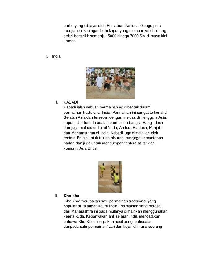 Permainan Orang India : permainan, orang, india, Gambar, Permainan, Tradisional, India, Rumah, Indonesia