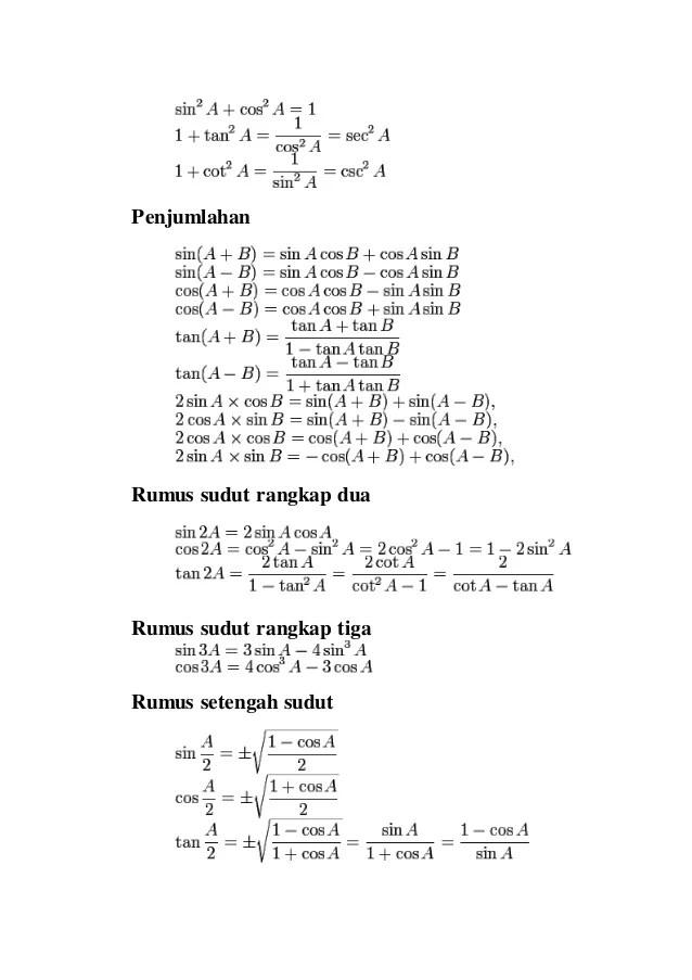 Rumus Persamaan Trigonometri : rumus, persamaan, trigonometri, Persamaan, Trigonometri