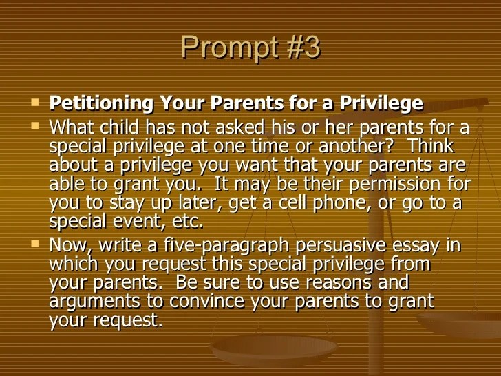 Five Paragraph Essay Outline Example
