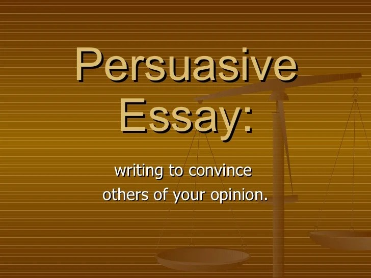 Persuasive essay on internet