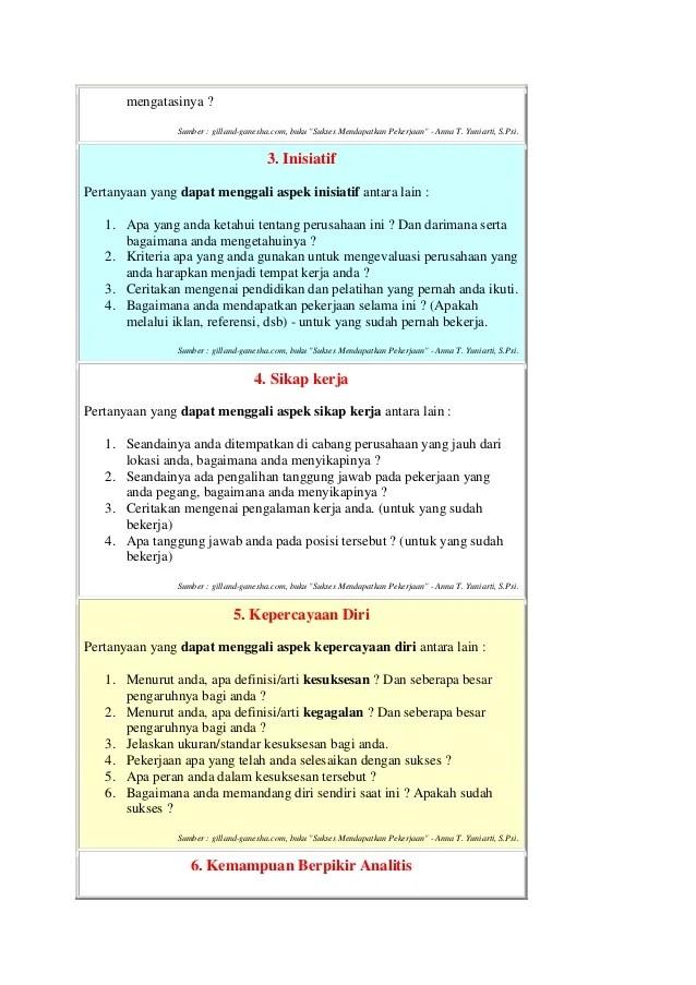Pertanyaan Umum Dalam Wawancara Auto Electrical Wiring Diagram