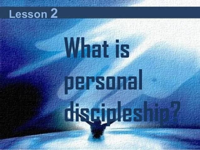 Phase 2 Discipleship Curriculum