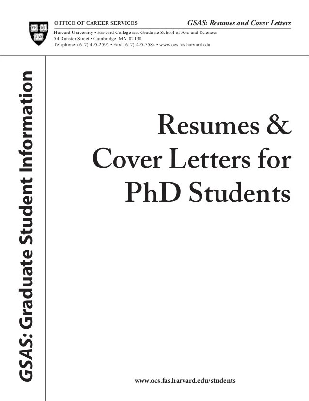 phd application cover letters
