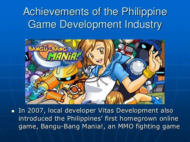 Philippine Game Development Industry 2011