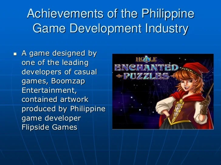 Philippine Game Development Industry Situationer 2011