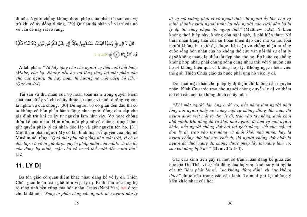 Phụ Nữ Islam Và Phụ Nữ Do TháI GiáO – ThiêN ChúA GiáO ...