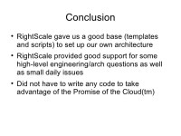 PHP LAMP AWS RightSscale