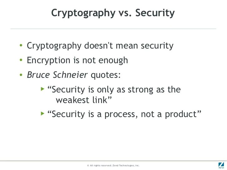 Cryptography in PHP Some Use Cases