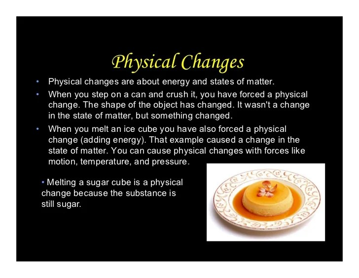 Physical And Chemical Properties Ppt