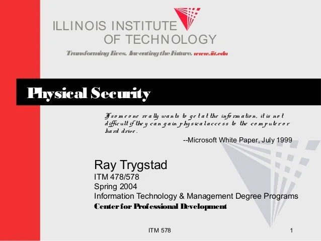 Jobs Security Technology Physical
