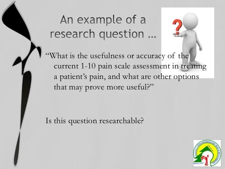 PICO Research Question