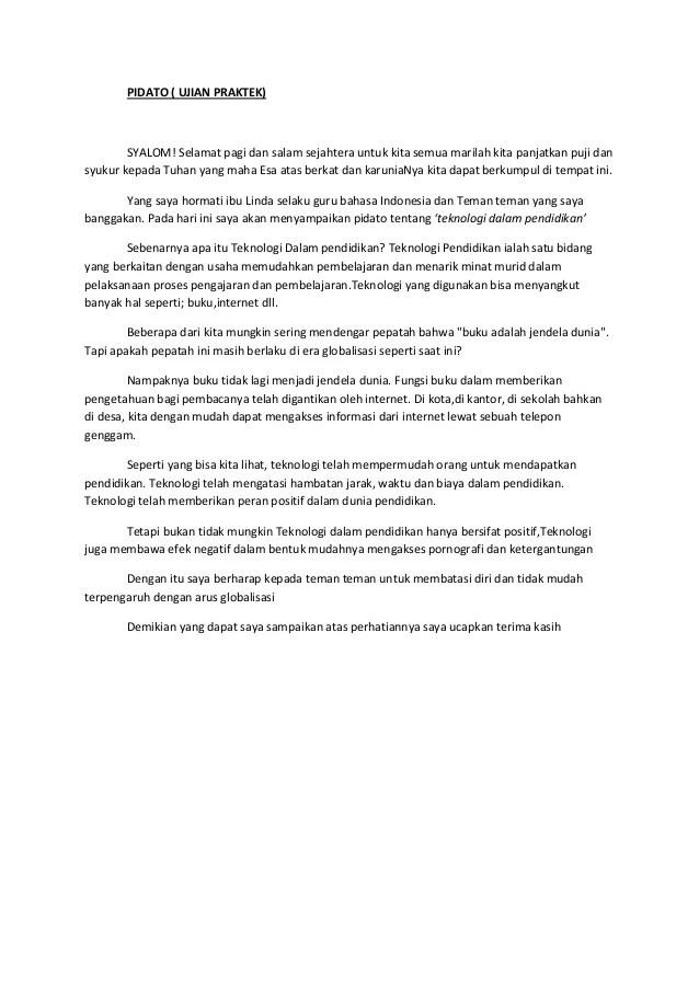 Pidato Singkat Pendidikan : pidato, singkat, pendidikan, PIDATO, (teknologi, Pendidikan)