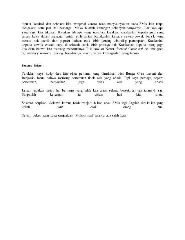 Pidato Bahasa Sunda Perpisahan : pidato, bahasa, sunda, perpisahan, Contoh, Pidato, Bahasa, Sunda, Perpisahan, Kelas, Dunia, Belajar