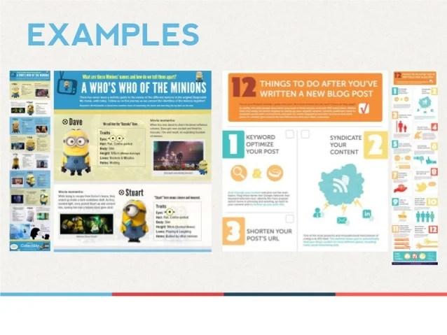 Infographics examples also design thinking piktochart presentation for barcamp penang rh slideshare