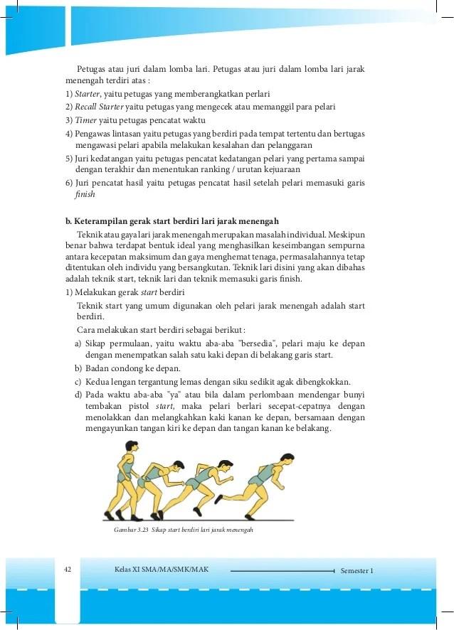 Sebutkan 3 Start Jongkok : sebutkan, start, jongkok