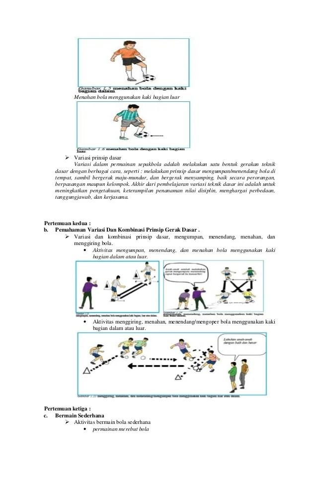 Variasi Dan Kombinasi Menendang Bola : variasi, kombinasi, menendang, Kelas
