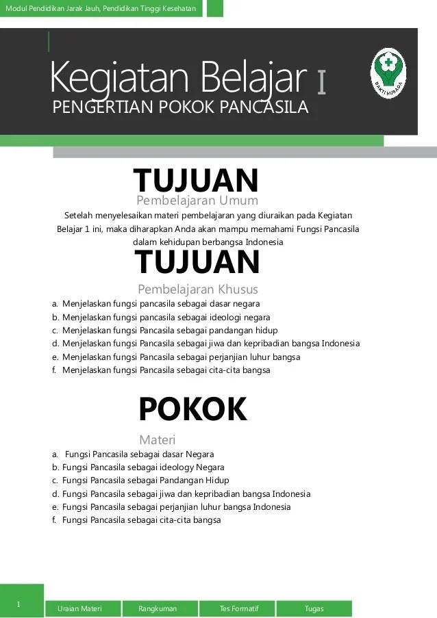 Tiga Fungsi Pokok Pancasila : fungsi, pokok, pancasila, Pengertian, Pokok, Pancasila