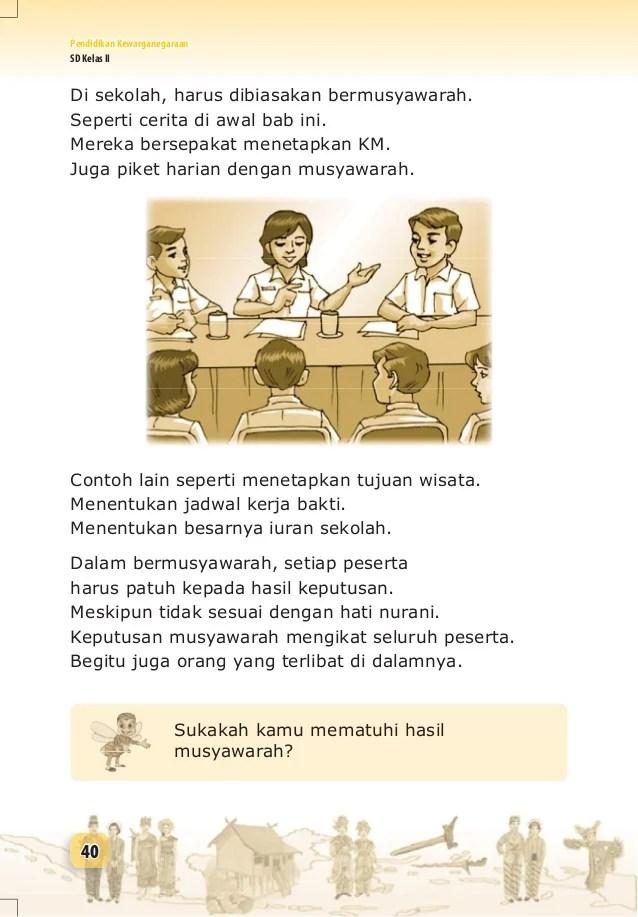 Contoh Musyawarah Di Sekolah : contoh, musyawarah, sekolah, Pendidikan, Kewarganegaraan, Untuk, Kelas, Sumarni