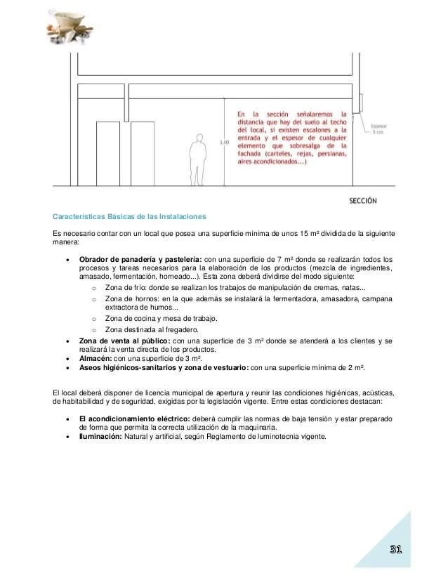 Plan de negocio de un obrador de panaderapastelera