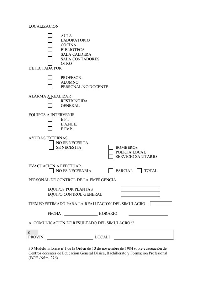 Plan de autoproteccin CBM REINO DE MURCIA