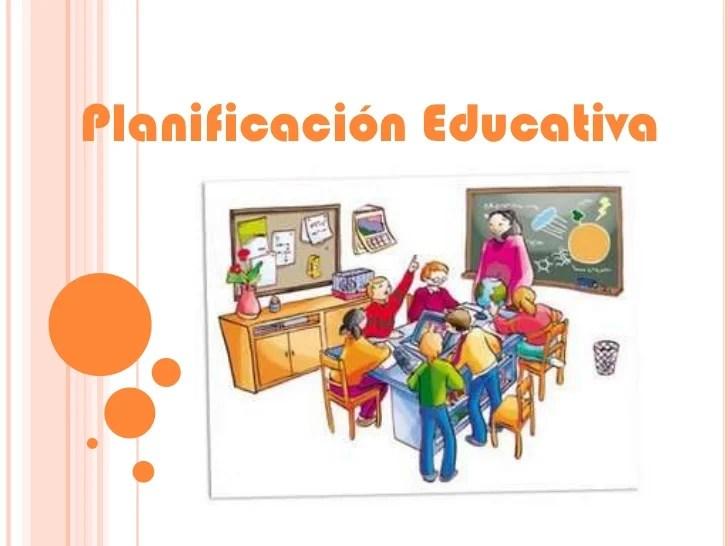 Planificacin Educativa