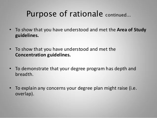 Rationale Essay Plan And Write A Great Essay Rationale College