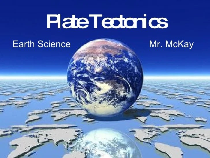 Plate Tectonics Lecture Chapter 2