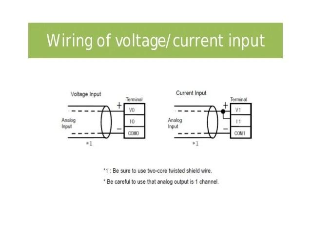 0 10v analog signal wiring volvo xc90 stereo diagram plc input output programming