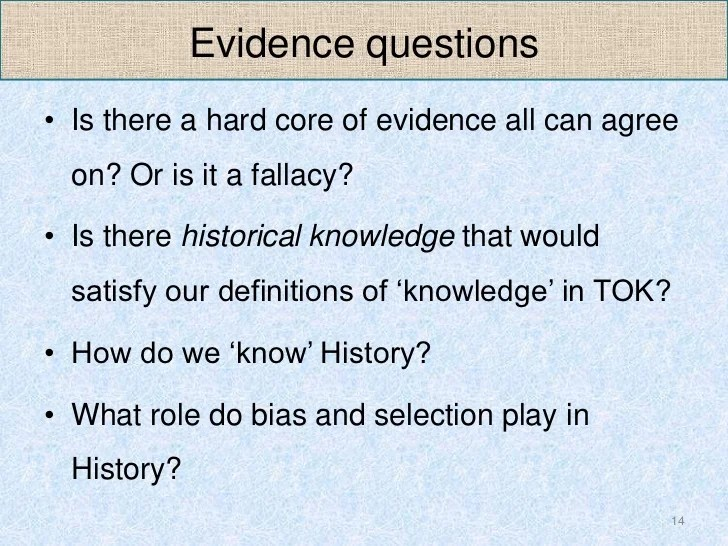 Theory Of Knowledge Essay Sample