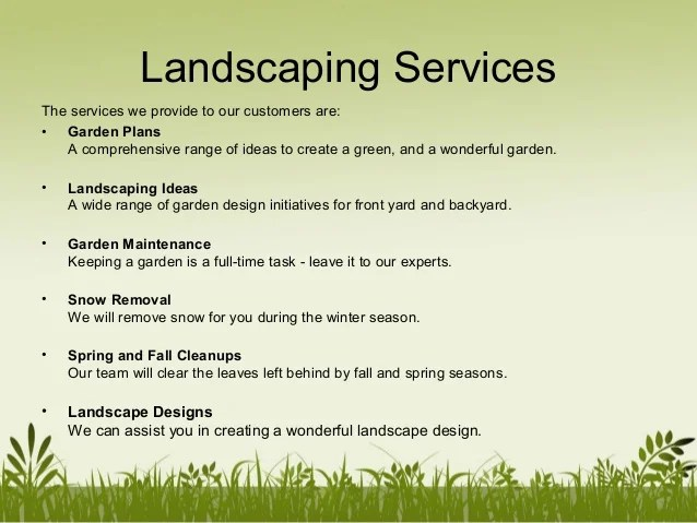 &mlandscaping company profile