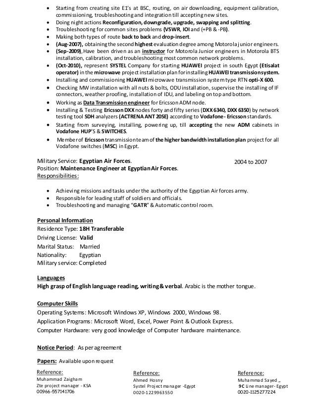 Rf Engineer Resume  Resume Ideas