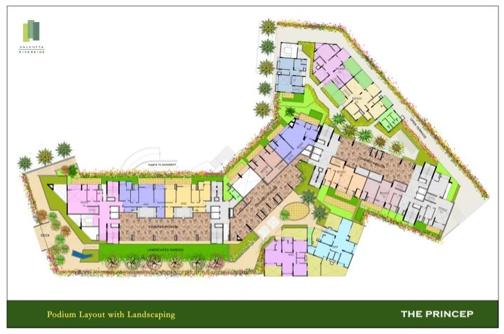 Conceptual Podium Landscaping