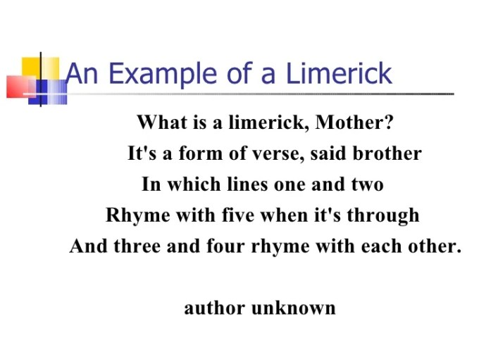 Example Of A Limerick Poem Funny Textpoems