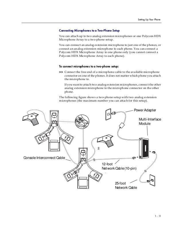 321 Bose Wiring Diagram Polycom Soundstation Ip7000 Set Up Guide