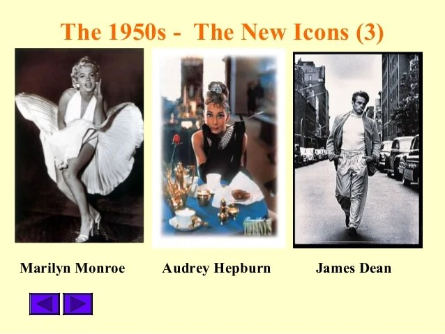 Popular Culture 1950s to 1970s