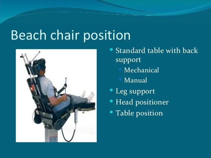 Positioning for shoulder arthroscopy